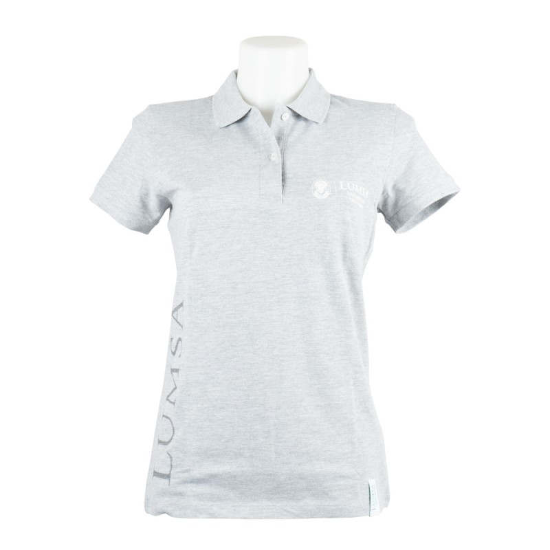 Polo Donna Heather Grey - Fronte