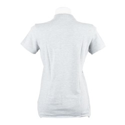 Polo Donna Heather Grey - Retro