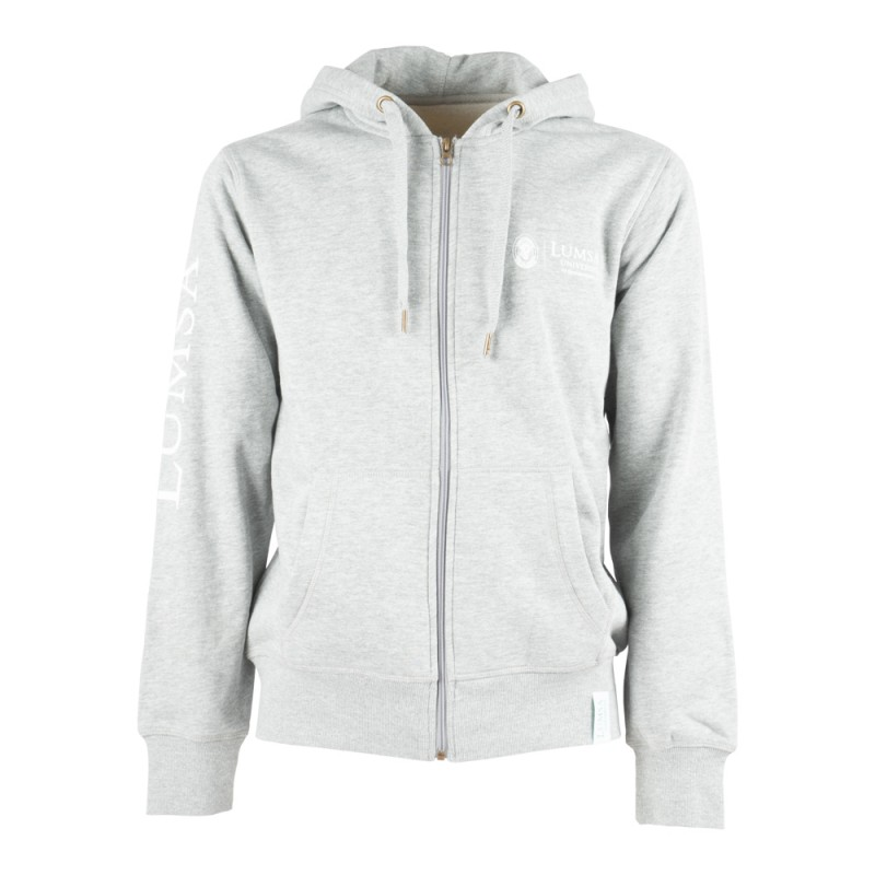 Felpa Uomo Heather Grey - Fronte