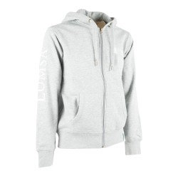 Felpa Uomo Heather Grey - Tre quarti