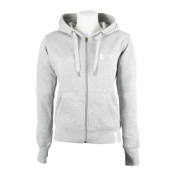 Felpa Donna Heather Grey - Fronte