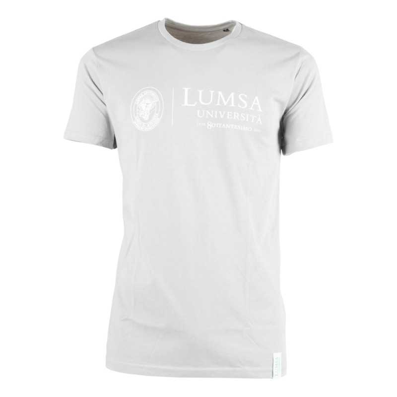 T-shirt Uomo Light Grey - Fronte