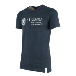 T-shirt Uomo Navy - Tre quarti