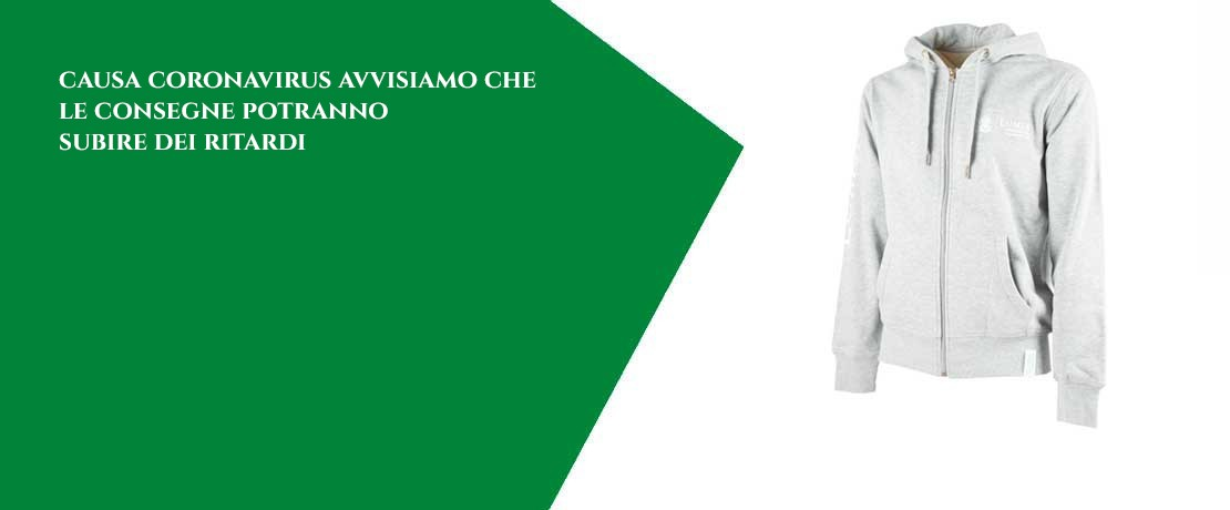 Felpa uomo Heather Grey